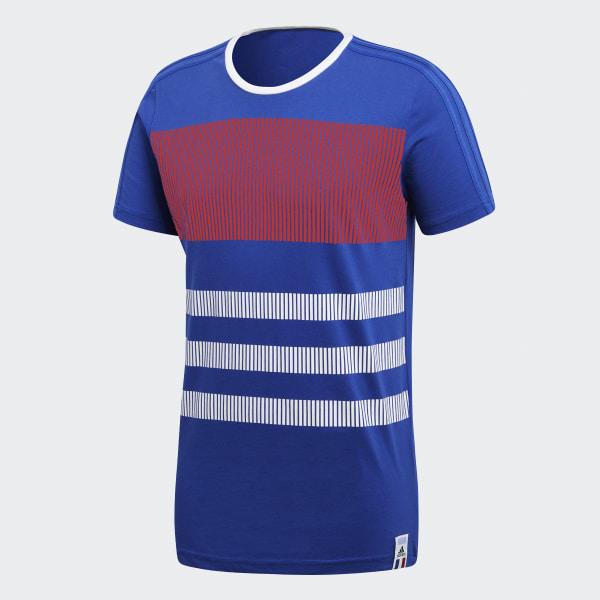 adidas Playera Francia - Azul  44c581b7a0986