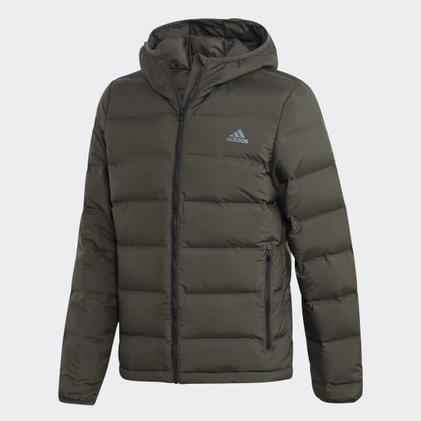 adidas Puchowa kurtka z kapturem Helionic DZ1427 Męskie Outdoor,Lifestyle,Sporty zimowe
