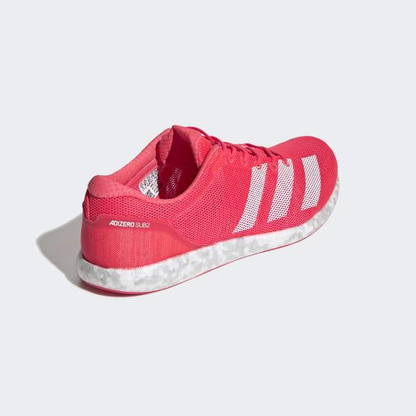 promo code 63546 256ac adidas Adizero Sub 2 Shoes - Pink  adidas UK