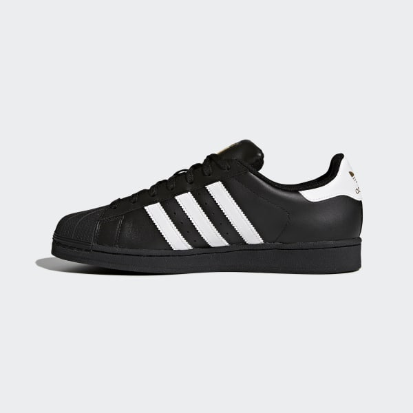 6e98b8ea9c25 adidas Superstar Foundation Shoes - Black