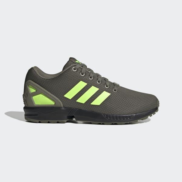 zx flux adidas verte online
