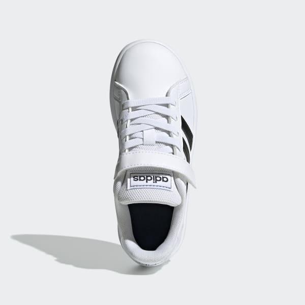 adidas Grand Court Shoes - White   EF0109   adidas US