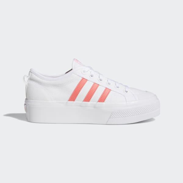 Chaussure Nizza Platform - Blanc adidas | adidas France