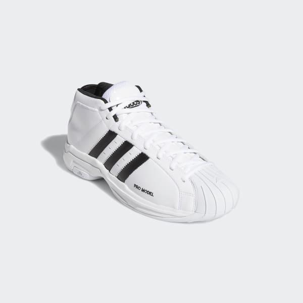 Silla Educación moral obispo  adidas Pro Model 2G Shoes - White | adidas UK