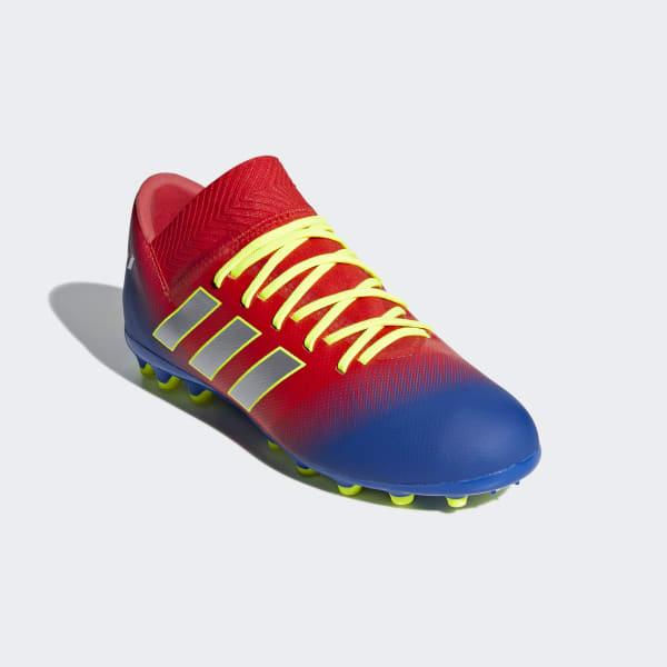 ce6adccb5b81a Bota de fútbol Nemeziz Messi 18.3 césped artificial - Rojo adidas ...