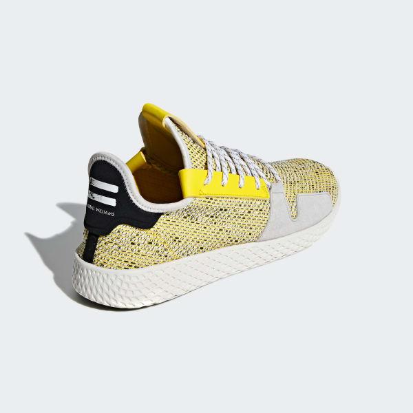 658c8ac966a17 adidas Pharrell Williams SOLARHU Tennis V2 Shoes - Yellow
