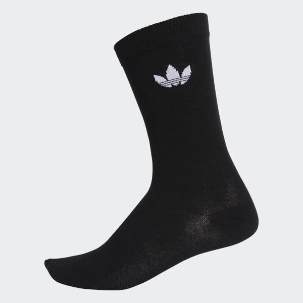 adidas Thin Trefoil Crew Socks 2 Pairs