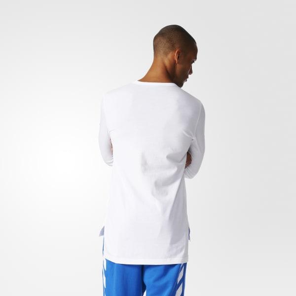 6d378a818c Camiseta New York - Branco adidas