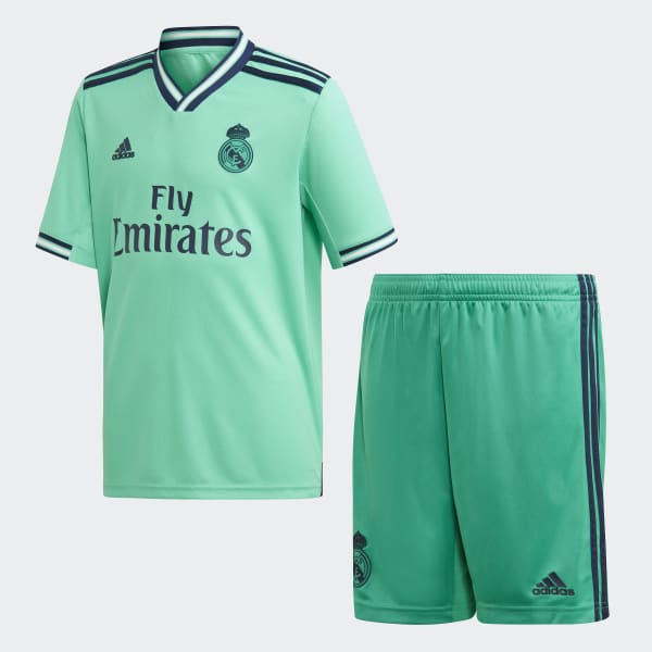newest collection e2359 4f9b0 adidas Real Madrid Third Youth Kit - Green | adidas UK