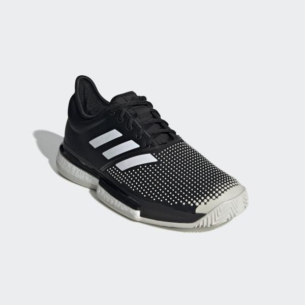 Adidas SoleCourt Boost M Clay Black buty tenisowe Adidas