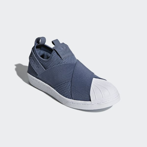 Tênis Superstar Slip-on - Azul adidas
