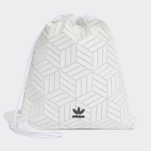 adidas 3D Gym Sack - White | adidas US