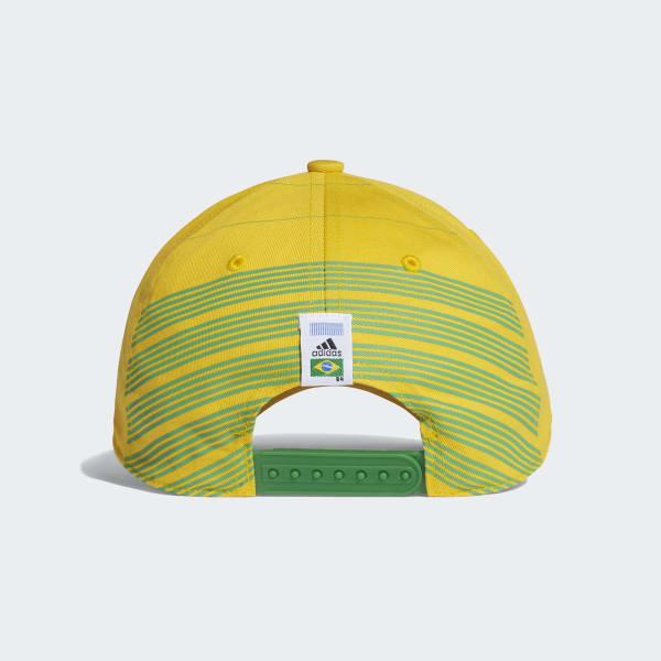 Boné Brasil - Ouro adidas  b03a874f1f9