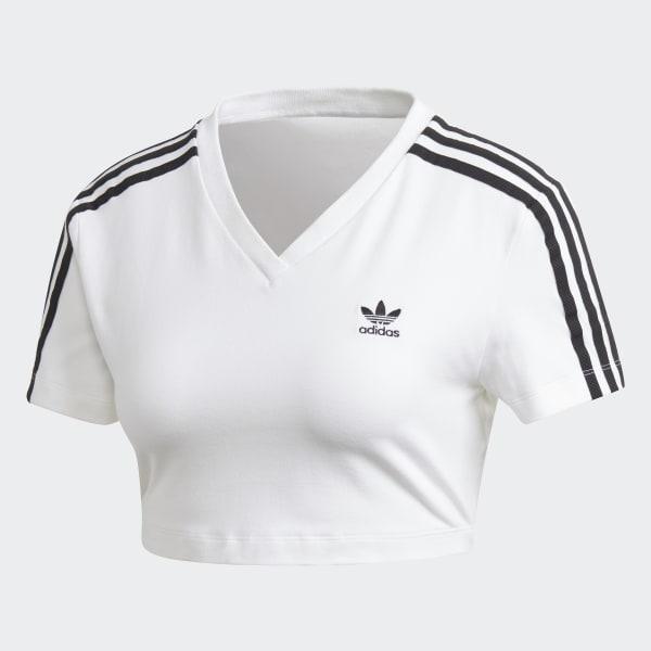 f14fa30b adidas Cropped Tee - White | adidas US