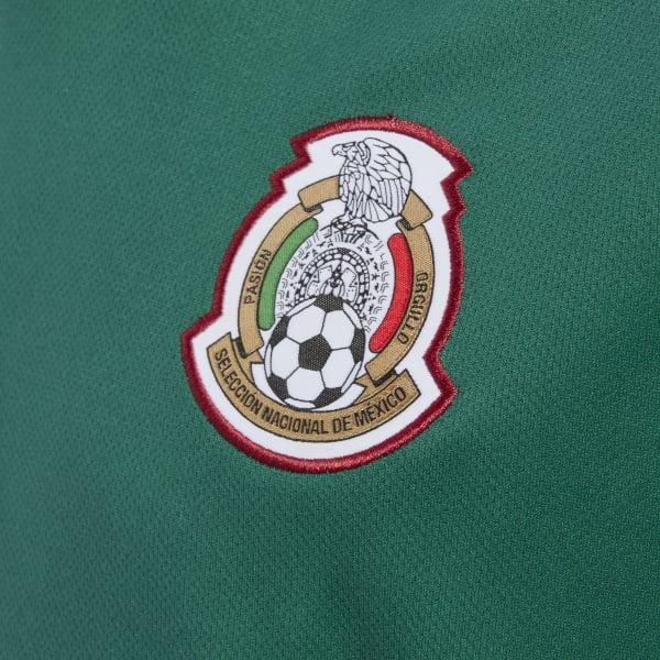 f6be6b9f07ca4 adidas Jersey Oficial Selección de México Local Niño 2018 - Verde ...