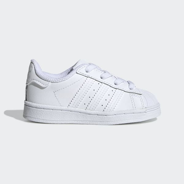 Toddler Superstar All White Shoes