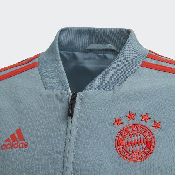 64031891ea0 adidas FC Bayern München Presentation Jack - groen | adidas Officiële Shop