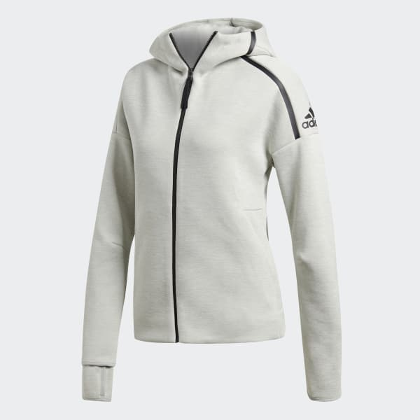 Chaqueta con capucha adidas Z.N.E. Fast Release - Gris adidas ... af56c93c1d2