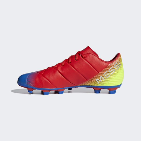 separation shoes 9a6c9 d4bdf adidas Guayos Nemeziz Messi 18.4 Multiterreno - Rojo   adidas Colombia
