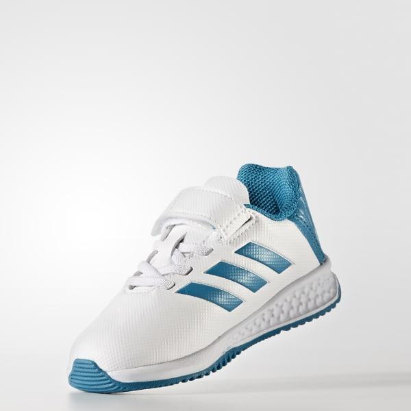Zapatillas RapidaTurf Real Madrid - Blanco adidas  77547650892e4