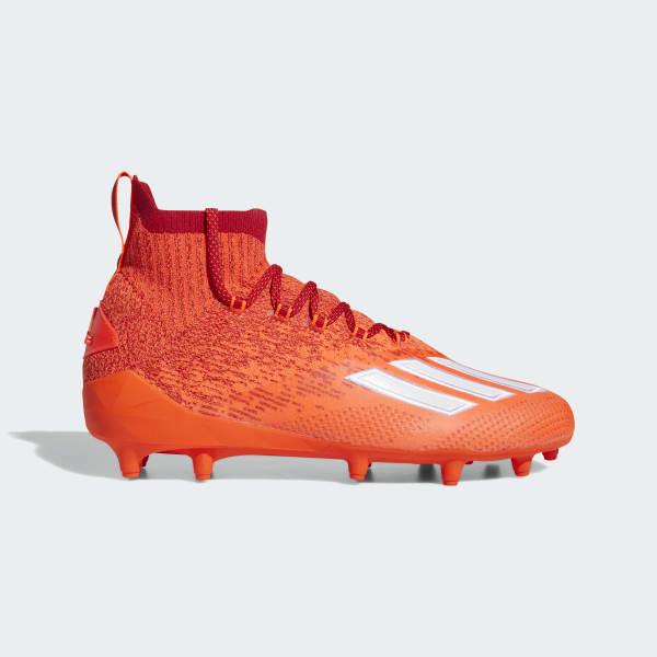 adidas clear orange cleats