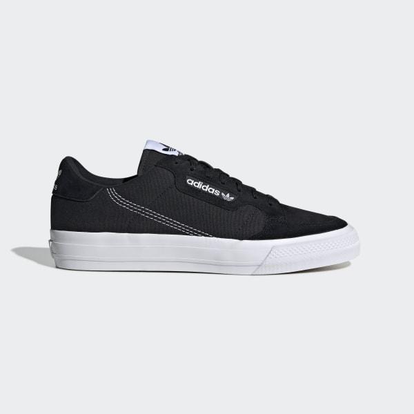 adidas Originals Continental vulc Sorte sneakers