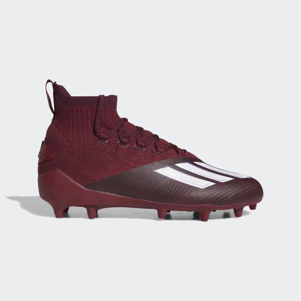 adidas Adizero Primeknit Cleats - Red