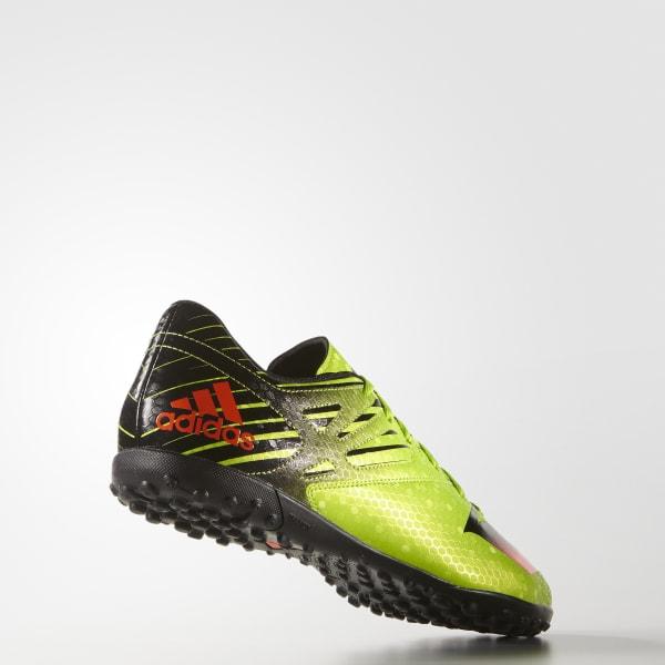 39fa72b4c2a0a Chuteira Messi 15 4 - Society - Verde adidas