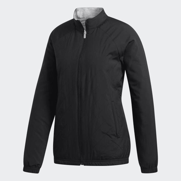 adidas Reversible Quilted Jacket Black | adidas UK