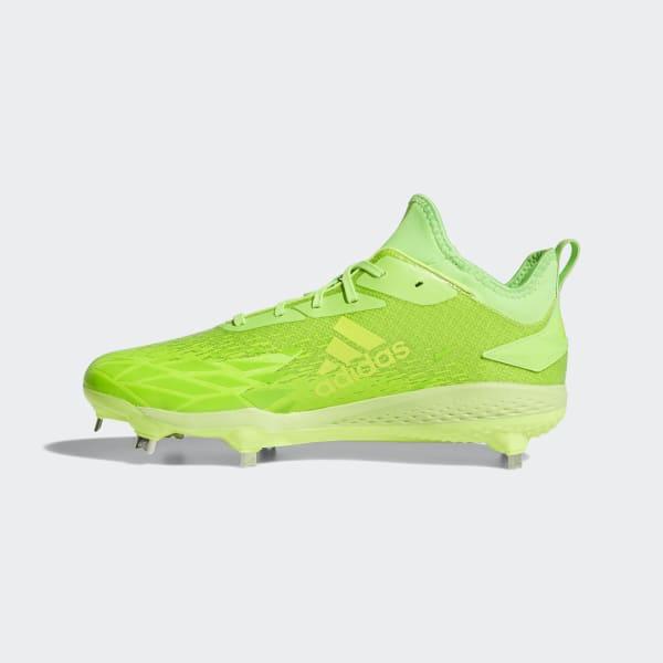 adidas Adizero Afterburner V Dipped Cleats - Green  16132767b
