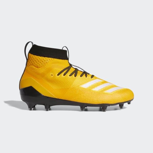 adidas Adizero 8.0 SK Cleats - Gold