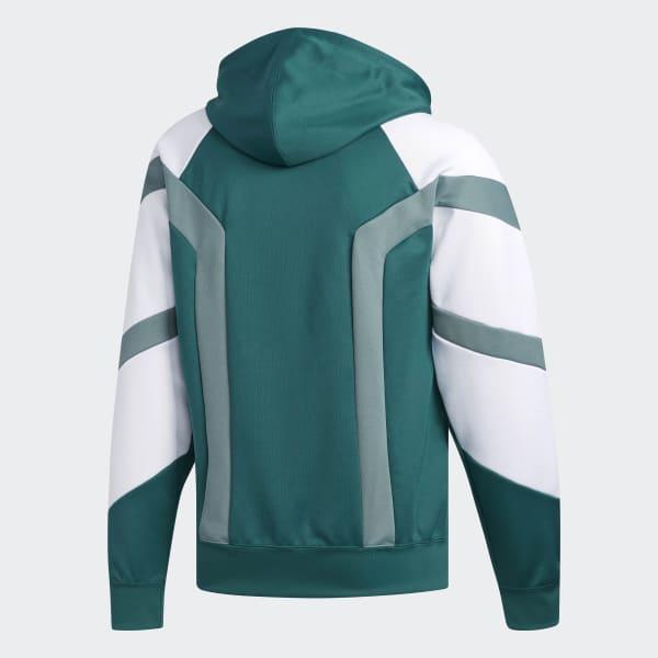 8765e2450b68 adidas EQT Block Hoodie - Green
