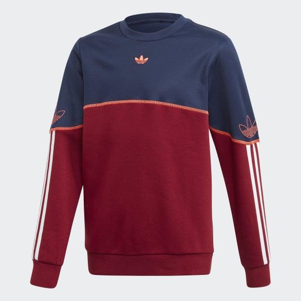 adidas Outline Sweatshirt Blau | adidas Austria