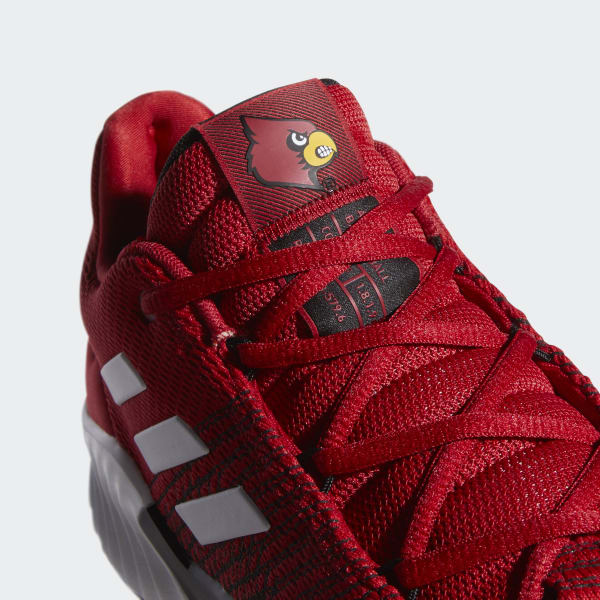 adidas Pro Bounce 2018 Low Shoes - Red  dda7065c5