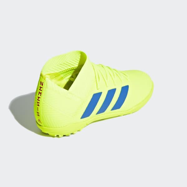 Zapatos de Fútbol Nemeziz Tango 18.3 Césped Artificial - Amarillo adidas  c702f898484bd
