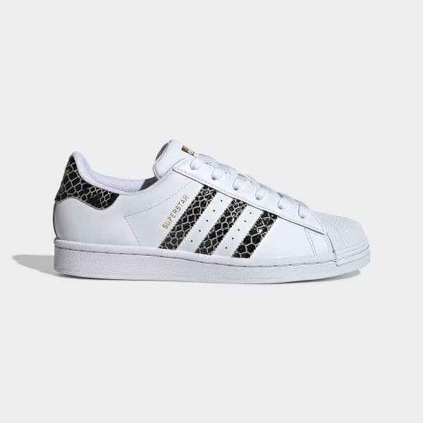 adidas Women's Black & White Superstar Sneakers in 2020
