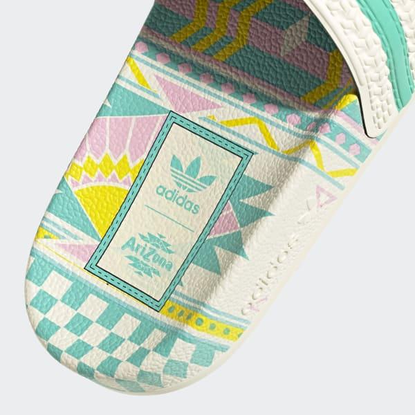 adidas Adilette Slides - White   adidas US
