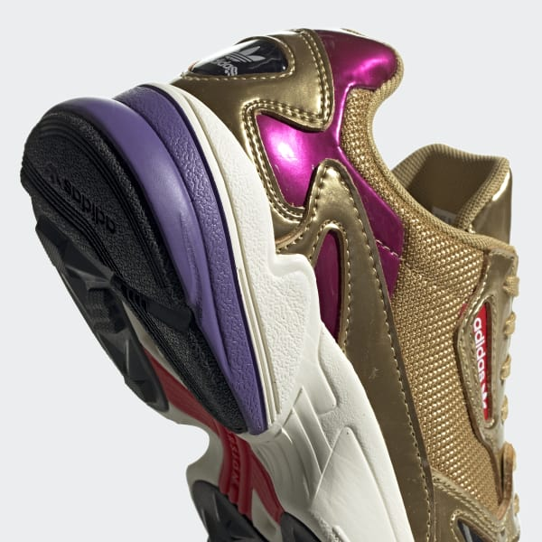 adidas Falcon Shoes - Gold   adidas New