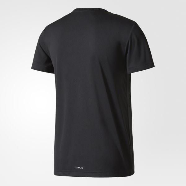 adidas Playera CATEGORY LOGO M - Negro  d96d46ae893