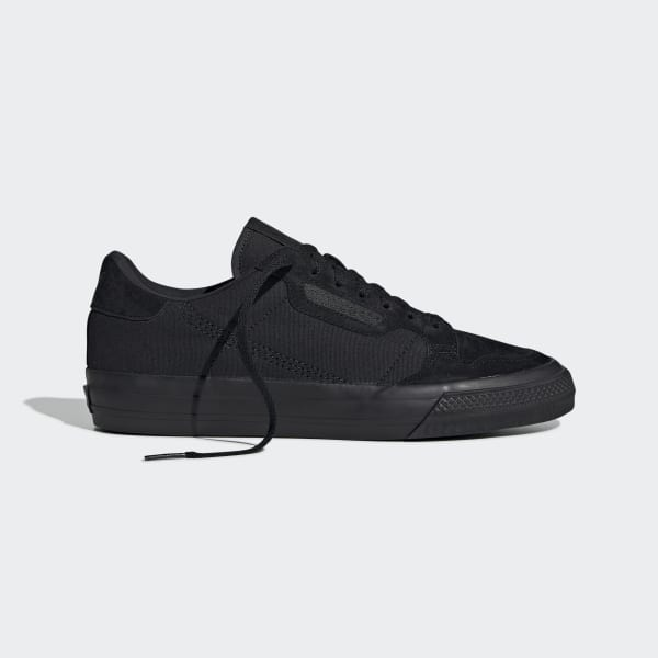 adidas Continental Vulc Shoes - Black