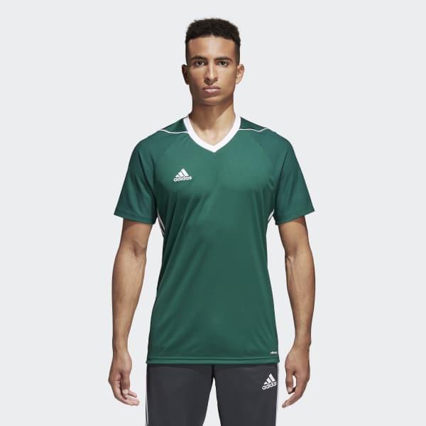 adidas Tiro 17 Jersey - Green   adidas US   Tuggl