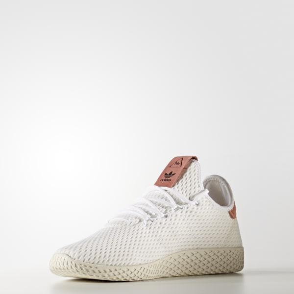 4e8d9c445958f adidas Men s Pharrell Williams Tennis Hu Shoes - White