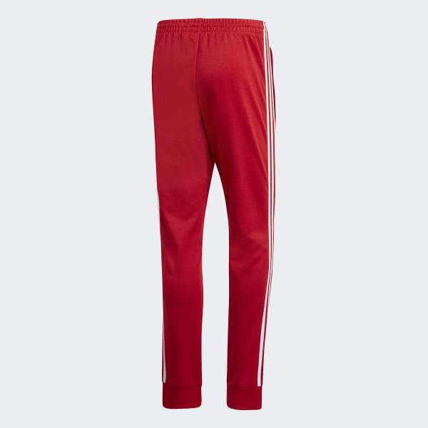 adidas SST Trainingsbroek - rood | adidas Belgium
