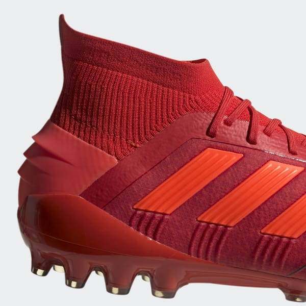 official photos d8aa7 bbccd Bota de fútbol Predator 19.1 césped artificial - Rojo adidas