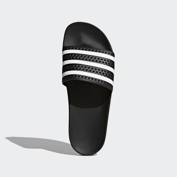 81b93596b3b0 adidas adilette Slides - Black