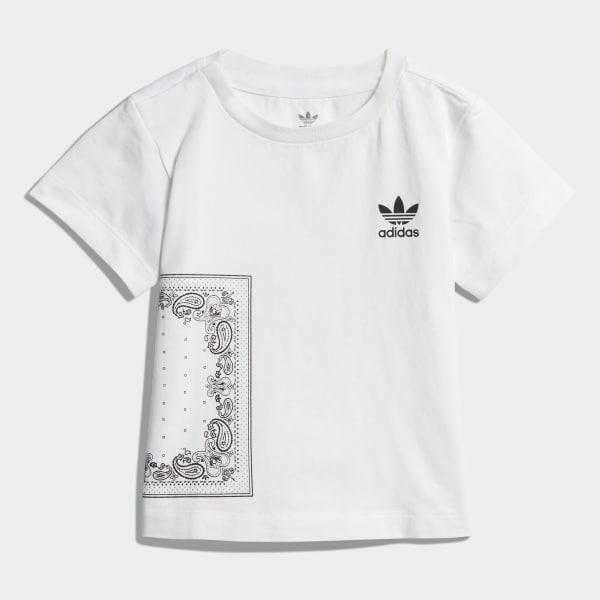 Conjunto camiseta y pantalón corto Bandana