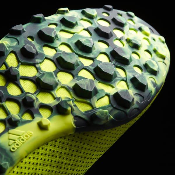 Chuteira X 17 Speed - Society - Amarelo adidas  f32deb2efa59b
