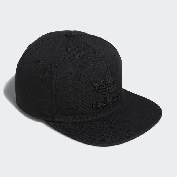 43211014dabb8 adidas Chain Snap-Back Cap - Black