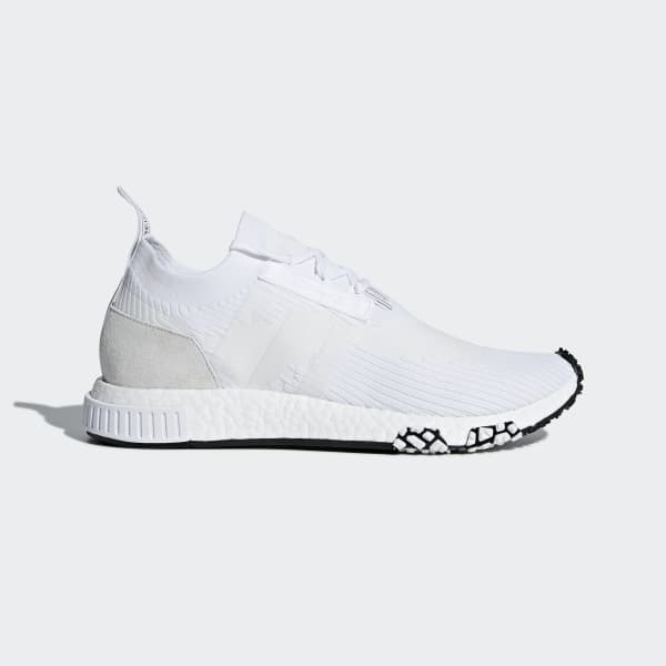 ab1589d1dbe83 adidas NMD Racer Primeknit Shoes - White