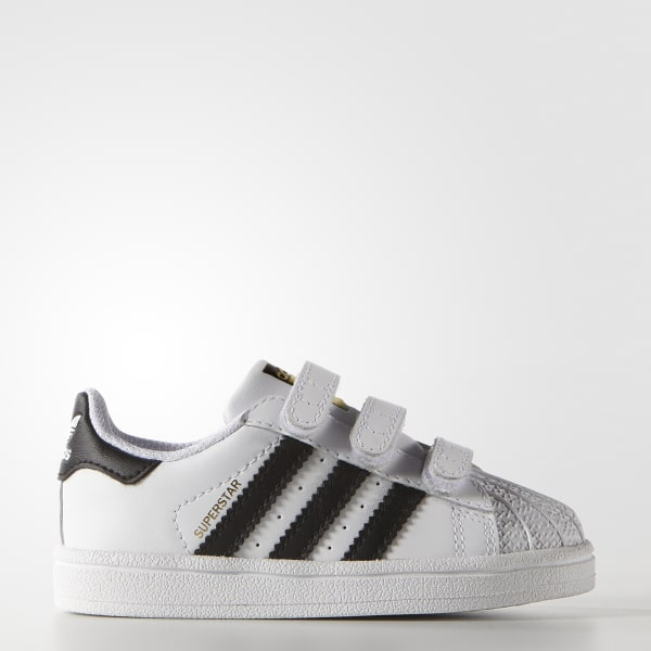 adidas Superstar Foundation Comfort Straps Shoes - White  7417f1456
